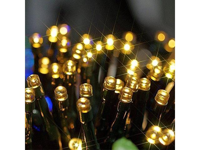 Connectable Solar Power 100 LED Waterproof String Fairy Light for Birthday Wedding & Anniversary Xmas/Chrismas Halloween ...