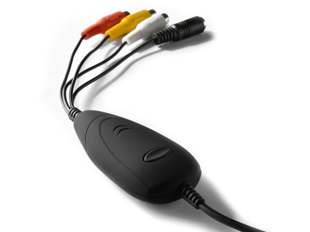 USB Video Grabber S-Video Composite Video Capture Adapter for Win XP/Vista /Win 7/Win 8/Win10