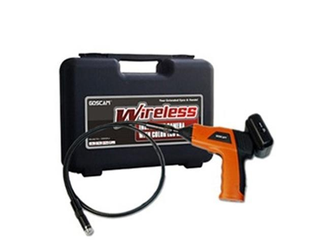 Wireless Waterproof Snake Plumbing Sewer Inspection Camera with 2.5 TFT-LCD Color removeable LCD Monitor come with 9mm Pipe ...