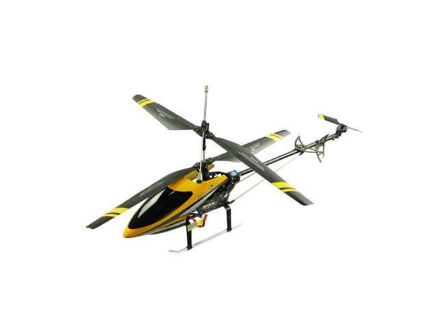 Yellow Double Horse 9101 Electric RC Remote Control 3ch Metal Helicopter w/Gyro