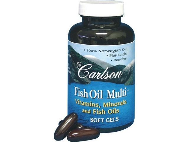Fish oil multi 120 softgels from carlson for Carlson fish oil review