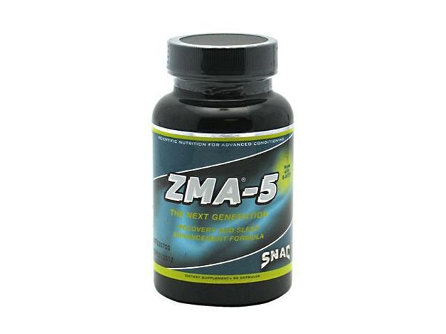 ZMA-5 with 5-HTP, 90 Capsules, From SNAC