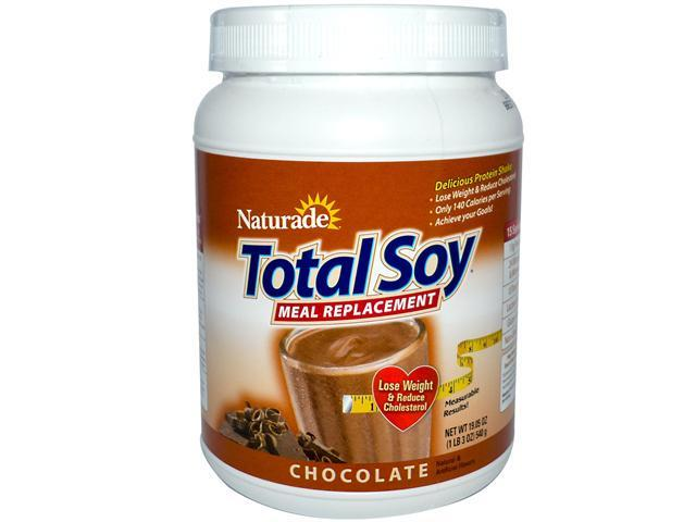 Total Soy Powder, Chocolate, 19.05 oz, Naturade