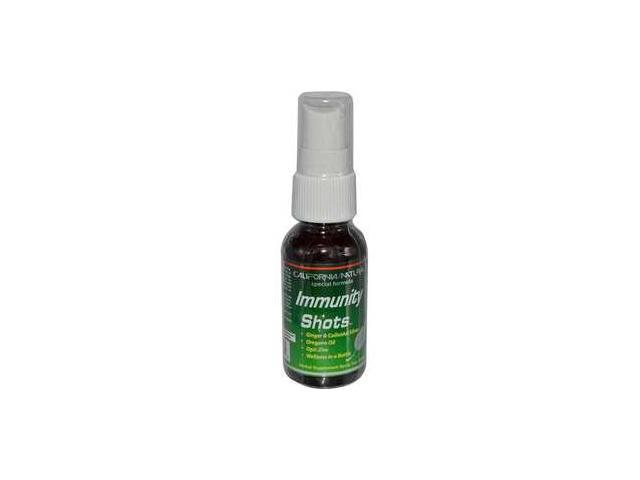 Immunity Shots Spray, 1 oz (30 ml), From California Natural
