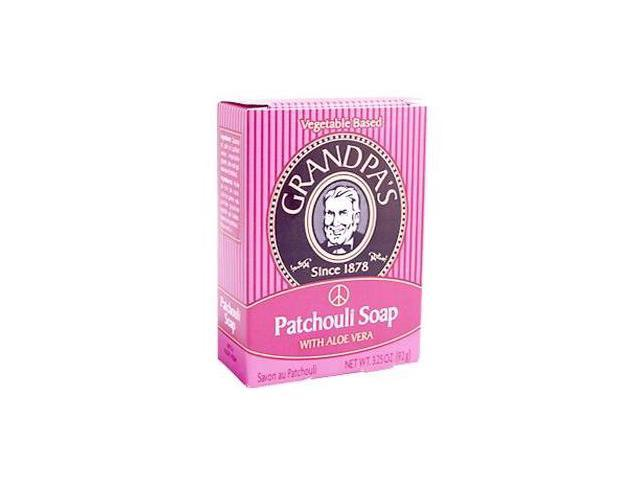 Patchouli with Aloe Vera Soap - Grandpa Soap Company - 3.25 oz. - Bar