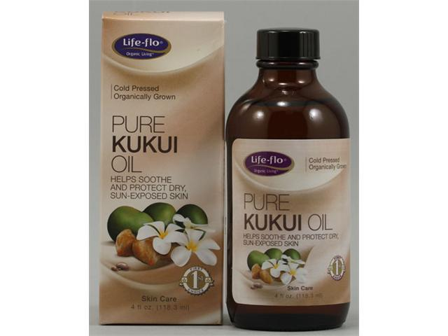 Pure Kukui Oil - Life Flo Health Products - 4 oz - Liquid