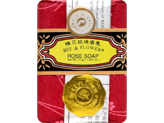 Soap-Rose - Bee and Flower Soaps - 2.65 oz. - Bar