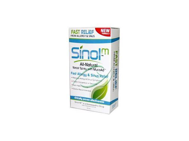 Sinol-M Allergy/Sinus - Sinol - 15 ml - Dropper