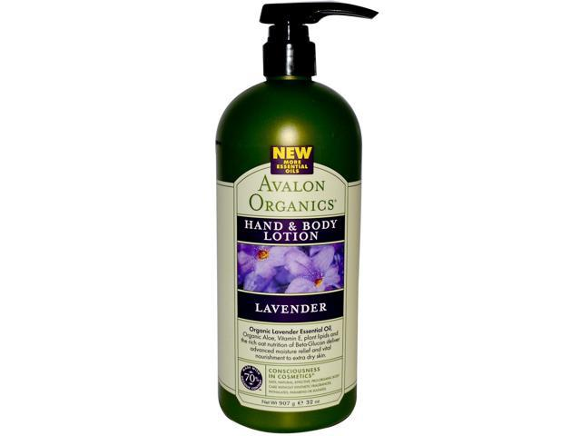 Avalon Hand and Body Lotion Lavender 32 oz