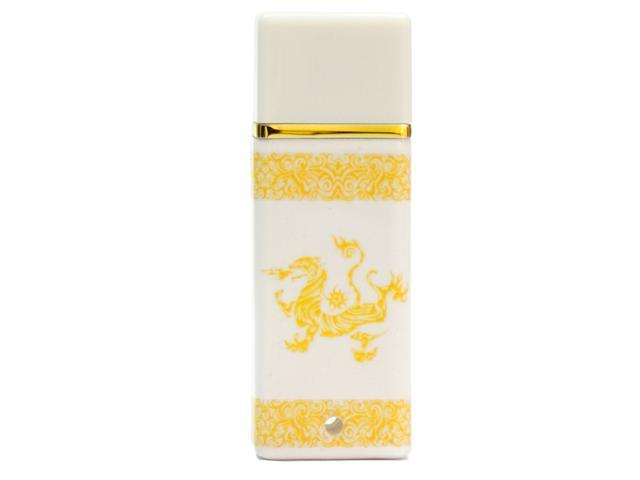 SEgoN China Style of Ceramic Design Series 16GB USB 2.0 Flash Drive Model White Tiger- 16GB