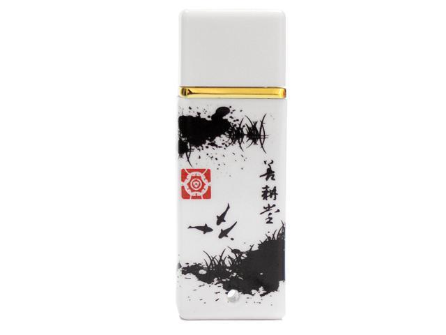 SEgoN China Style of Ceramic Design Series 8GB USB 2.0 Flash Drive Model Splash-ink Painting- 8GB