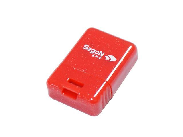 SEgoN Mini-Ding Series 8GB USB 2.0 Flash Drive Model Red Mini-Ding A-8GB