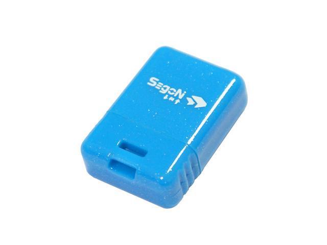 SEgoN Mini-Ding Series 8GB USB 2.0 Flash Drive Model Blue Mini-Ding A-8GB