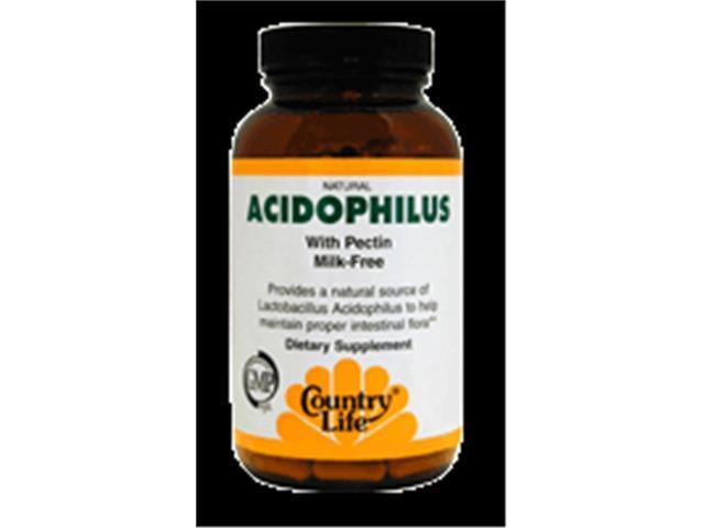 Dairy Free Acidophilus With Pectin - Country Life - 100 - VegCap