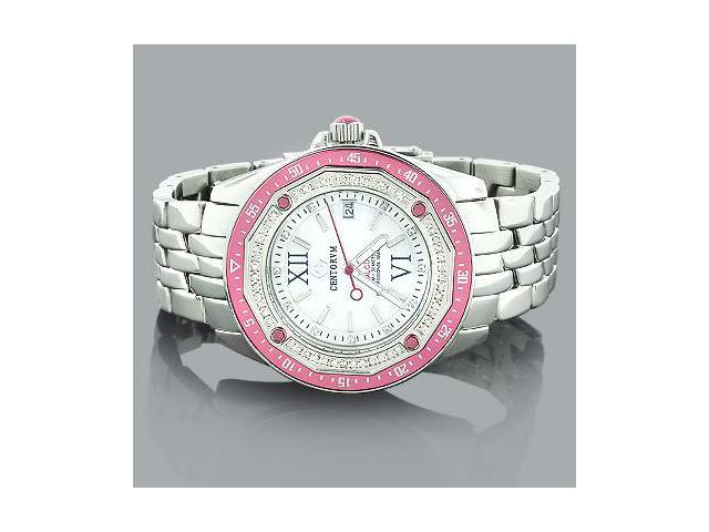 Pink Watches: Centorum Ladies Diamond Watch 0.50ct