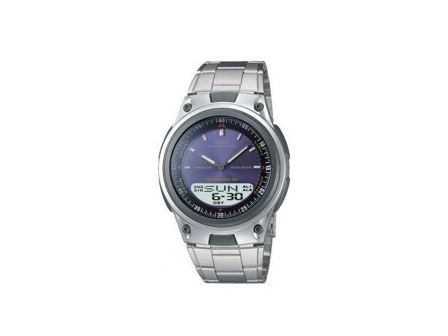 Casio AW80D-2AV World Time Data Bank Mens Watch