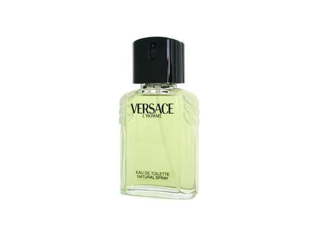 VERSACE L HOMME by Versace Eau De Toilette Spray 3.4 oz