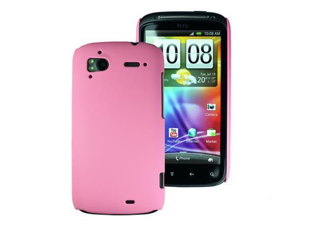 [ZIYA] HTC Sensation Back Cover Case- Pink  (Ultra Thin)