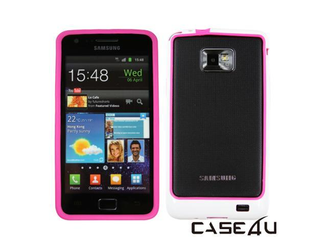 [CASE4U] Samsung Galaxy S 2/ i9100 Bumper Case- Pink