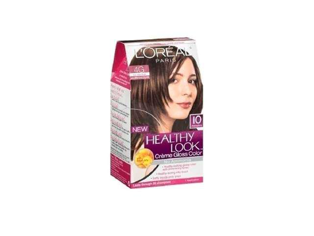 L'oreal Healthy Look 10 Minute 4 G Dark Golden Brown 1 Application