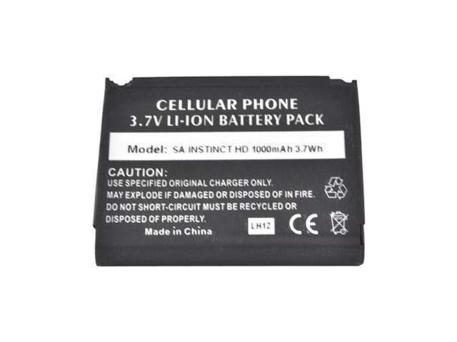 Black Back Up Standard Replacement Battery 1000 Mah For Google Nexus S