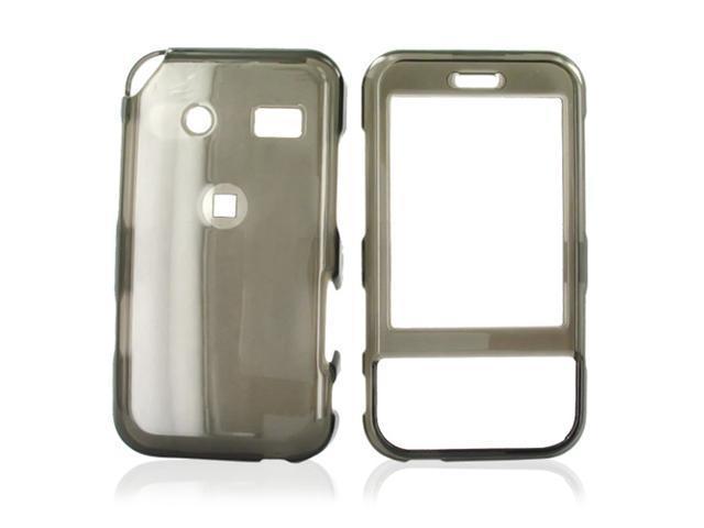 Huawei M750 Hard Plastic Case - Transparent Smoke