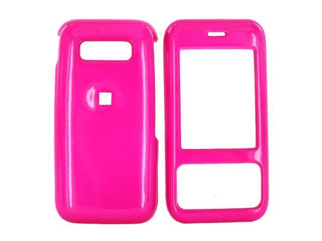 Kyocera Laylo M1400 Hard Plastic Case - Hot Pink