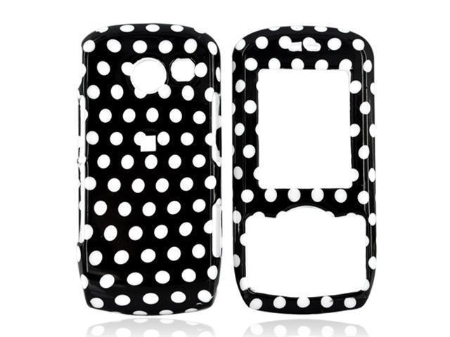 LG Lyric MT375 Hard Plastic Case - Polka Dots