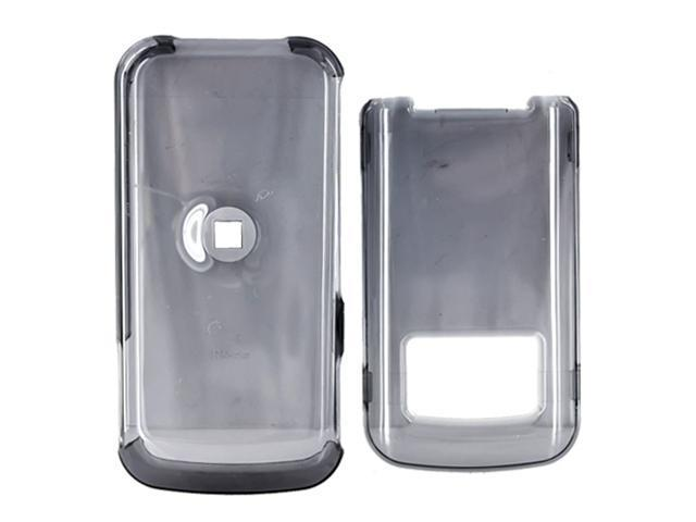 Motorola i410 Hard Plastic Case - Transparent Smoke