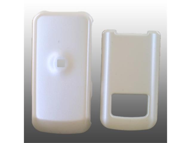 Motorola i410 Hard Plastic Case - Solid White