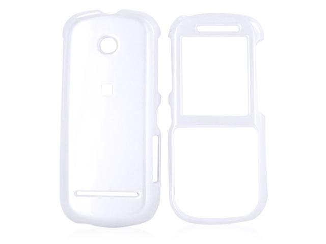 Motorola VE440 Hard Plastic Case  - White