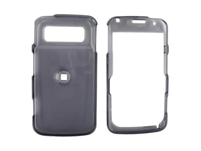 Samsung i220 Plastic Case  - Transparent Smoke