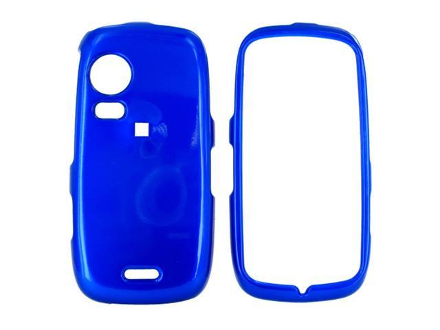 Samsung Instinct HD M850 Hard Plastic Case - Blue