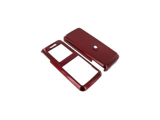 Samsung T119 Plastic Case  - Red