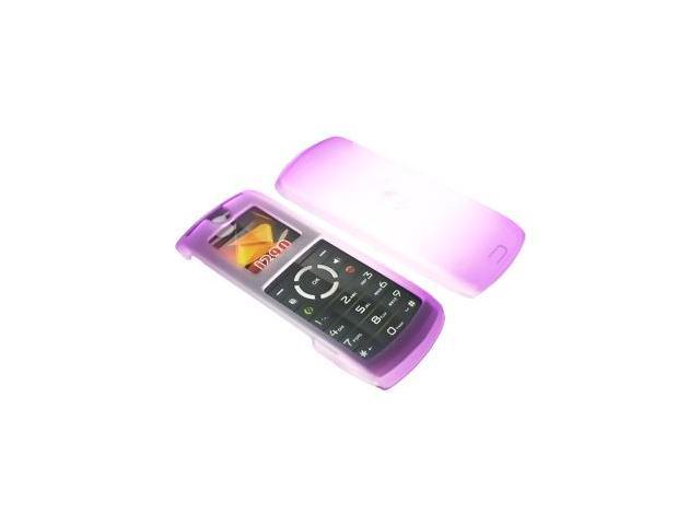 Motorola i290 Icy Plastic Case  - Purple