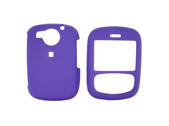 UTStarcom Audiovox Cricket TXTM8 Rubberized Plastic Case  - Purple