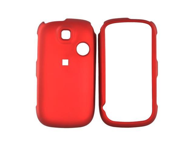 Huawei Tap Rubberized Hard Plastic Case - Red