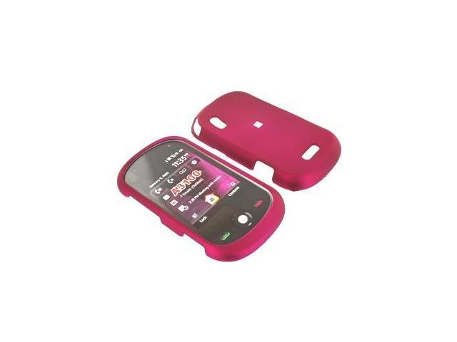 Motorola MotoSurf A3100 Rubberized Plastic Case  - Rose Pink