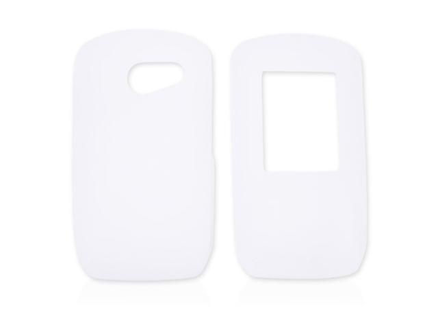 LG Lyric MT375 Silicone Case  Rubber Skin - Frost White