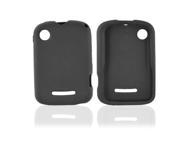 Motorola QX404 Silicone Case  Rubber Skin - Black