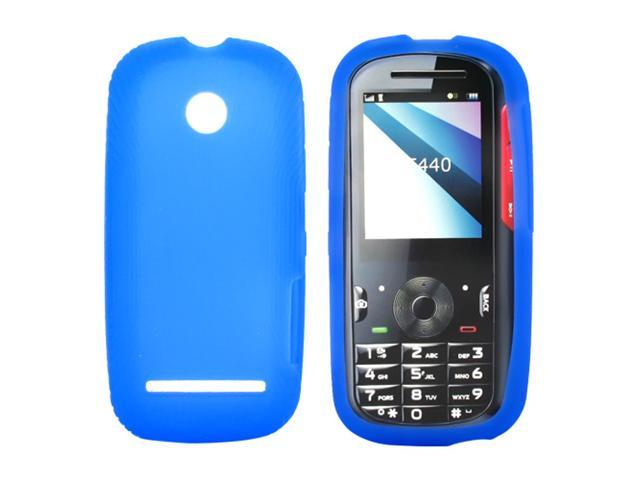 Motorola VE440 Silicone Case  Rubber Skin - Blue