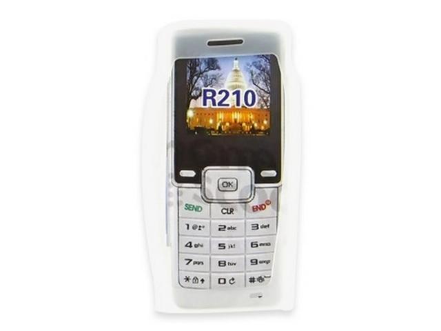 Samsung R210 Silicone Case  Rubber Skin - Frost White
