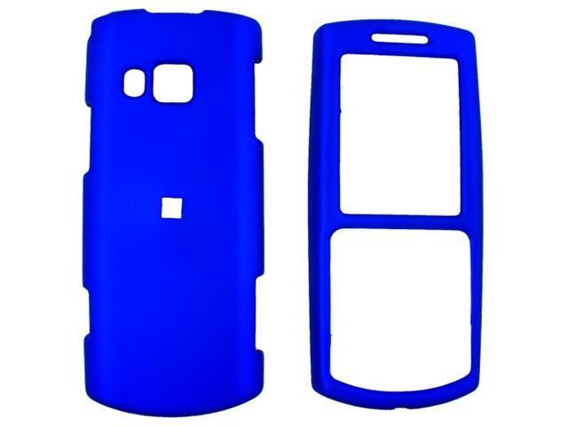 Samsung Messager II R560 Rubberized Hard Plastic Case  - Blue