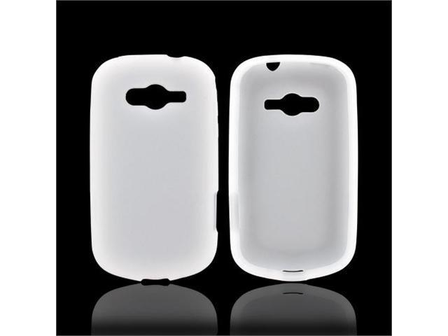 Galaxy Reverb Case, [Frost White] Slim & Flexible Anti-shock Matte Reinforced Silicone Rubber Protective Skin Case Cover