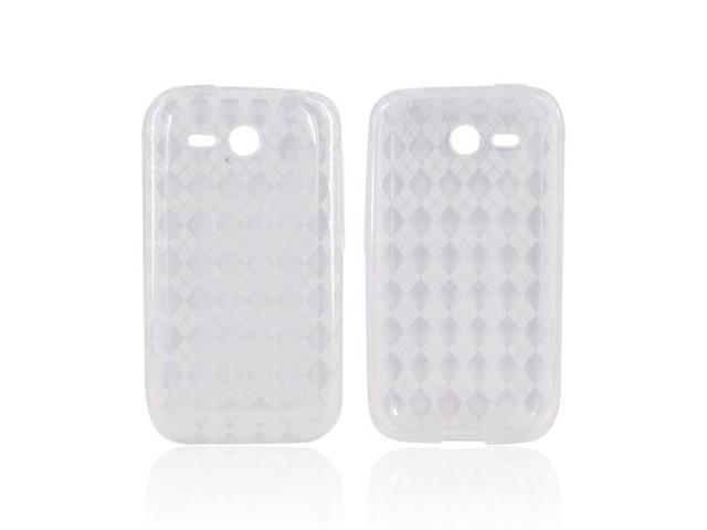 HTC Freestyle Case, [Clear] Slim & Flexible Anti-shock Crystal Silicone Protective TPU Gel Skin Case Cover