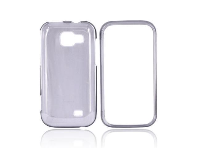 Slim & Protective Hard Case for Samsung Transform M920 - Transparent Smoke