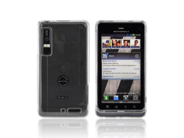 Slim & Protective Hard Case for Motorola Droid 3 - Clear