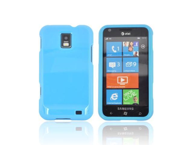 Slim & Protective Hard Case for Samsung Focus S i937 - Turquoise