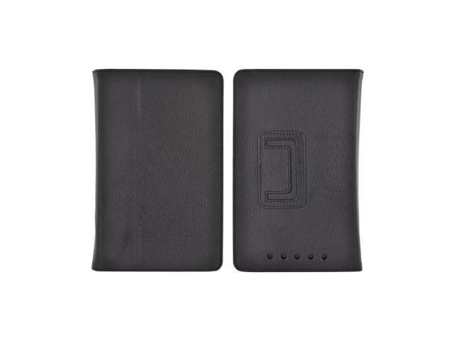 Google Nexus 7 Leather Stand Case W/ Magnetic Closure - Black