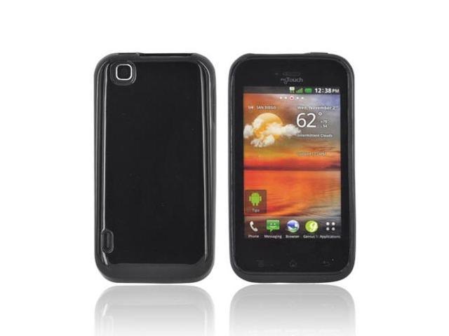 Black (argyle Interior) TPU Crystal Gel Silicone Case Cover For T-mobile Mytouch